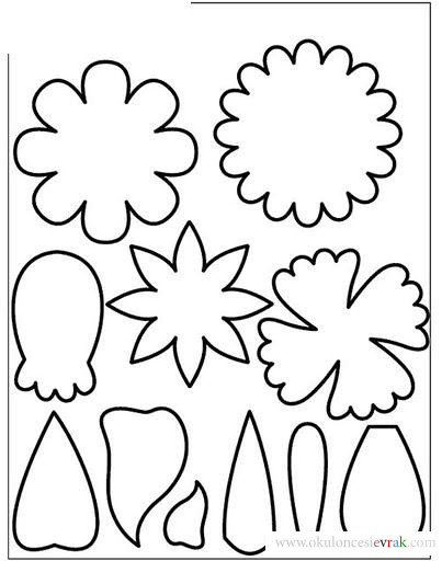 flower template coloring (11)