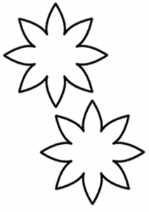 flower template coloring (4)