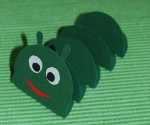 free caterpillar craft