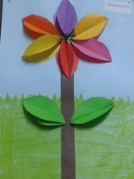 free flower craft idea