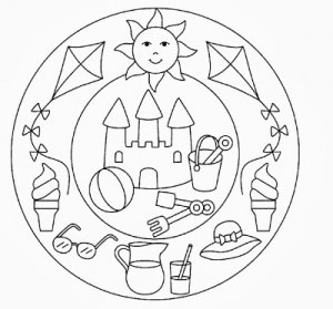 free printable summer mandala coloring (1)