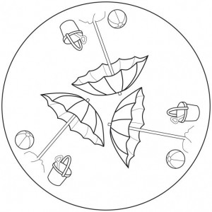free printable summer mandala coloring (8)