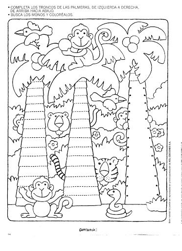 math worksheet : free printable tree trace worksheet  crafts and worksheets for  : Free Printable Tracing Worksheets For Kindergarten