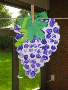 grapes crafts