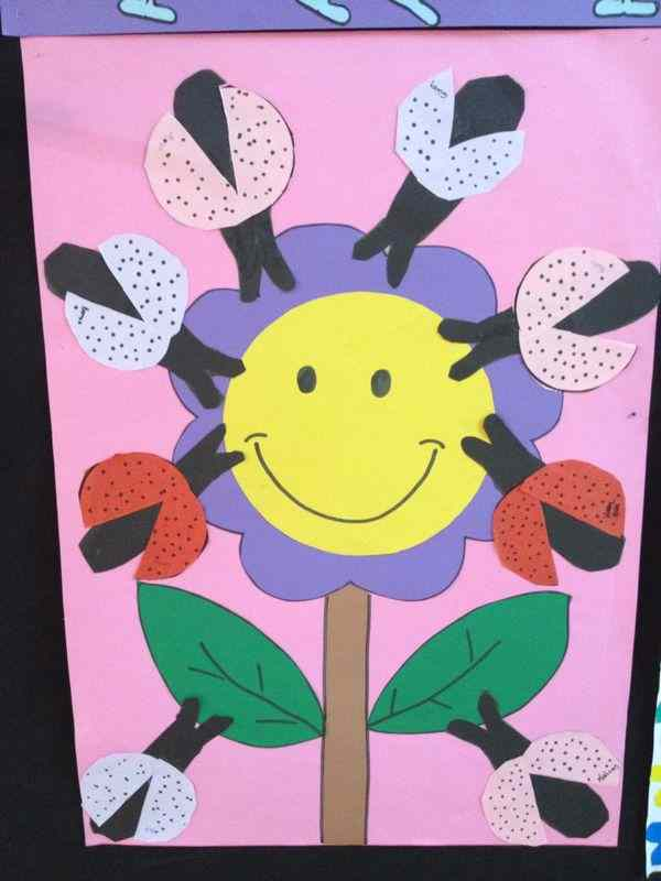 lady bug bulletin board
