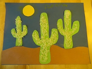 paper and rice cactus