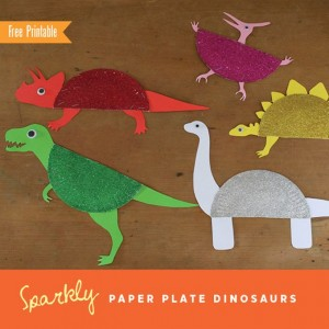 paper plate dinosaur craft idea (11)