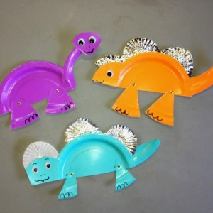 paper plate dinosaur craft idea (12)