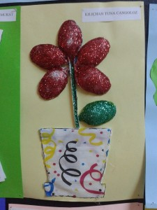 plastic spoon flower craft