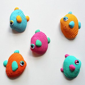seashell fish craft
