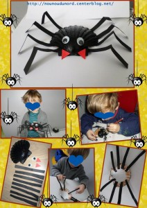 seashell spider craft