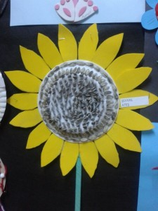 sun flower craft
