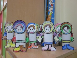toilet paper roll astronaut craft