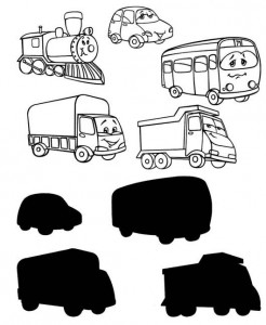 transportation shadow matching worksheet (2)
