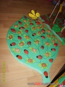 walnut shell ladybug craft