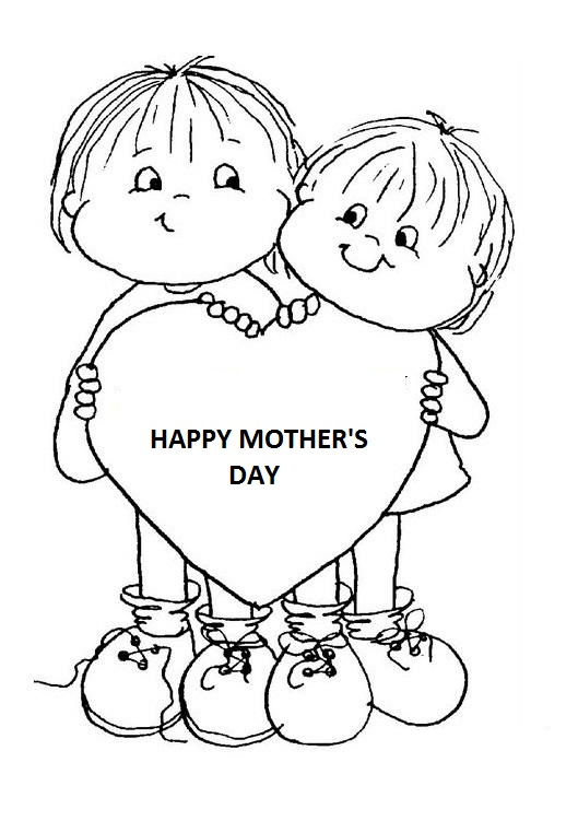 this - Mothers Day Coloring Pages