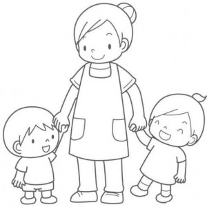 mother's day coloring page (8)