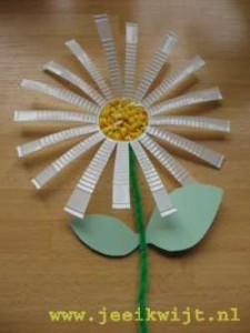 plastic cup flower