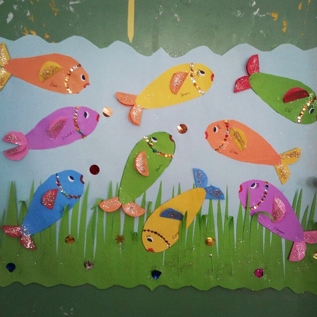 aquarium craft idea for kids (5)