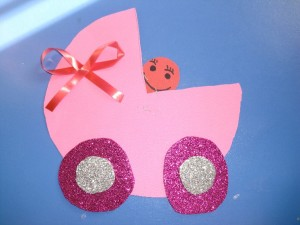 baby carriage craft