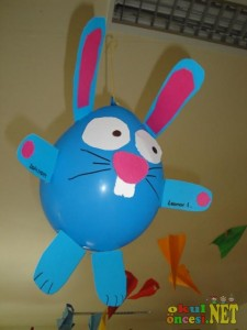 balloon bunny craft