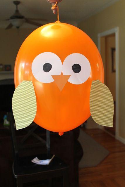 balloon owl craft