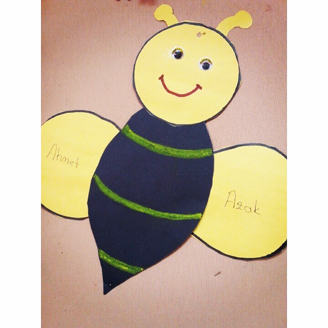 bee craft idea for kids (1)
