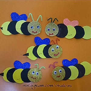 Bee Craft Idea For Kids Crafts And Worksheets For Preschool