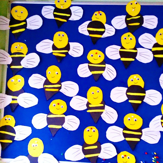 bee craft idea for kids (3)