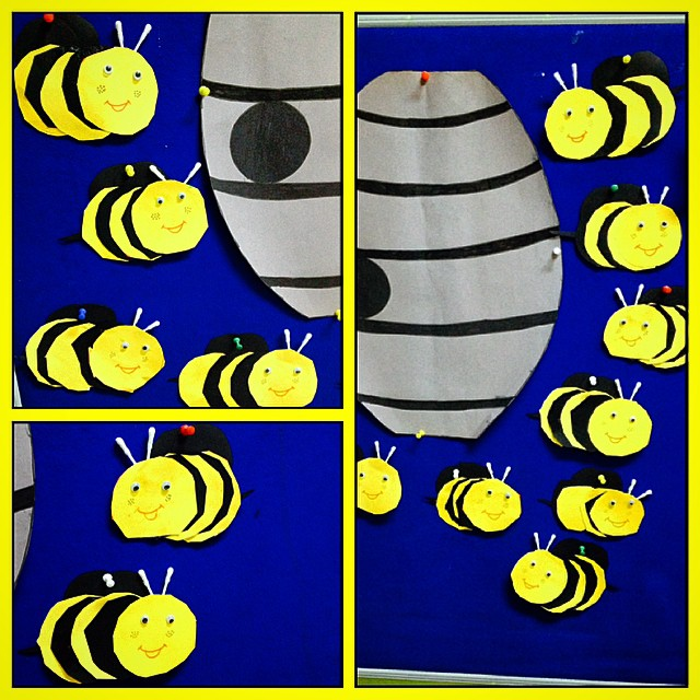 bee craft idea for kids (4)