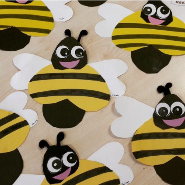 bee craft idea for kids (8)
