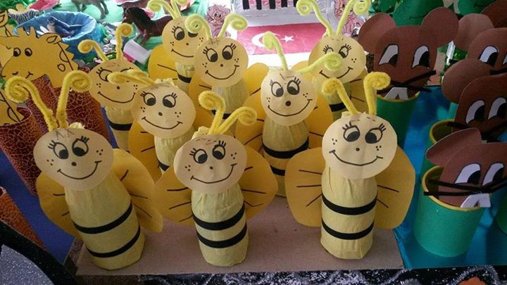 bottle bee craft