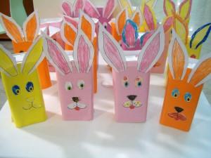 box bunny craft