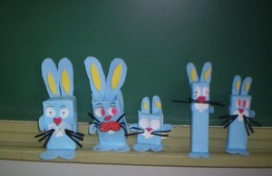 box bunny craft idea for kids