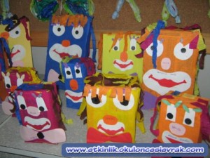 box clown craft