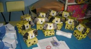 box dog craft idea