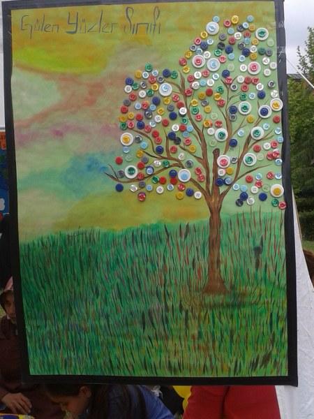 button tree craft