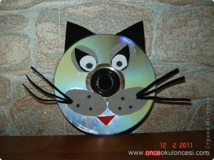 cd cat craft