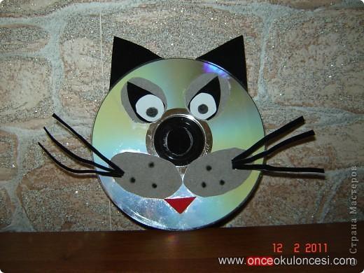 cd cat craft