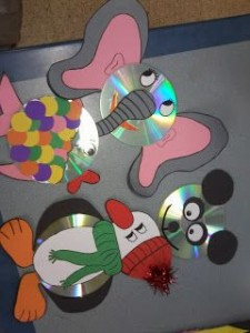cd craft idea for kids