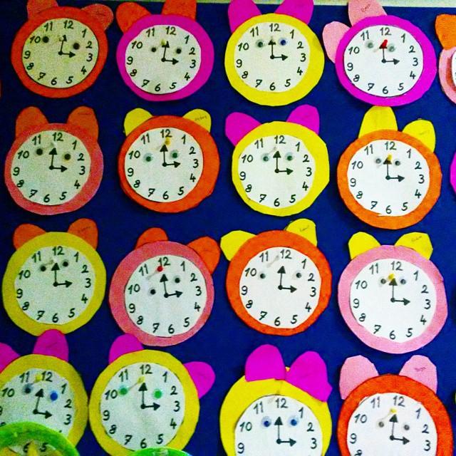 clock craft idea for kids (4)