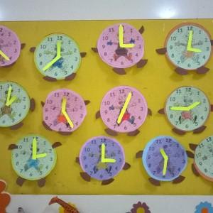 clock craft idea for kids (5)