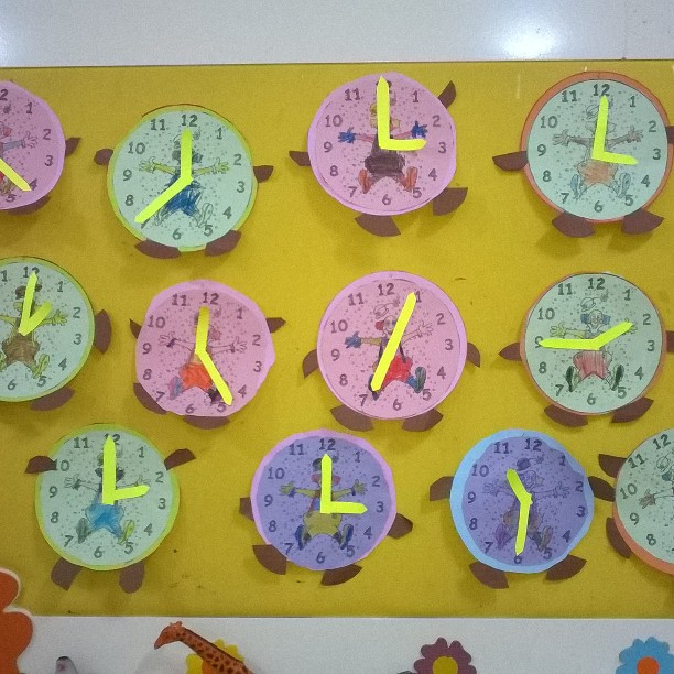clock craft idea for kids (5)