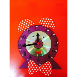 clock craft idea for kids (6)