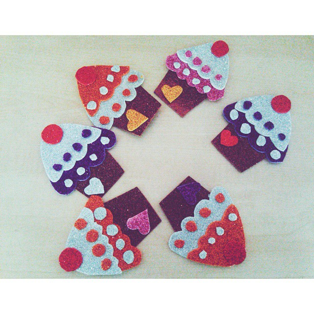 cupcake craft idea for kids (1)