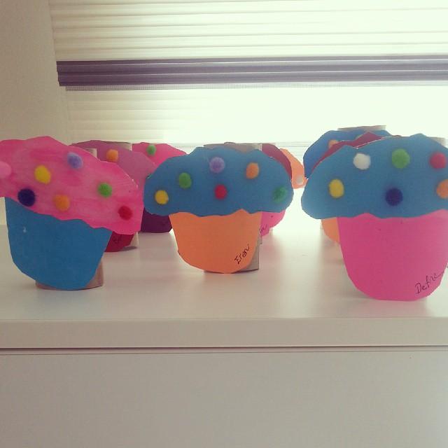 cupcake craft idea for kids (2)