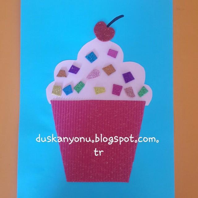 cupcake craft idea for kids (3)