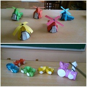 egg carton transportation craft