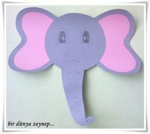 Elephant craft idea for kids