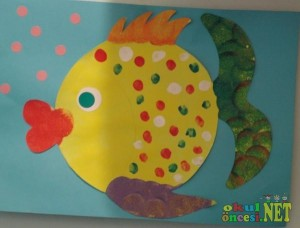 fish craft idea for kids (3)